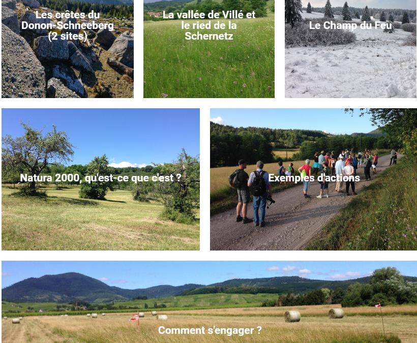 Un nouveau site pour présenter Natura 2000