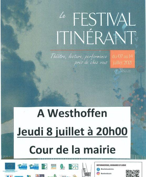 Le festival itinérant