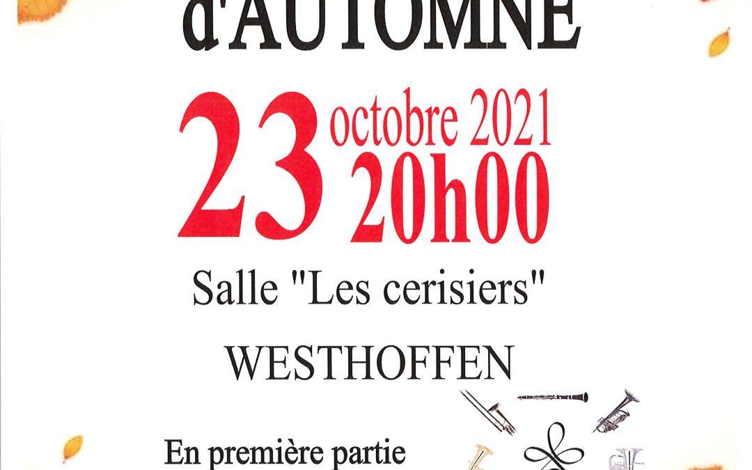 Concert d'automne de l'Harmonie de Westhoffen